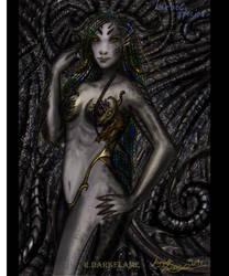 Har'ool species (female)  by Reynjel-Darkflame