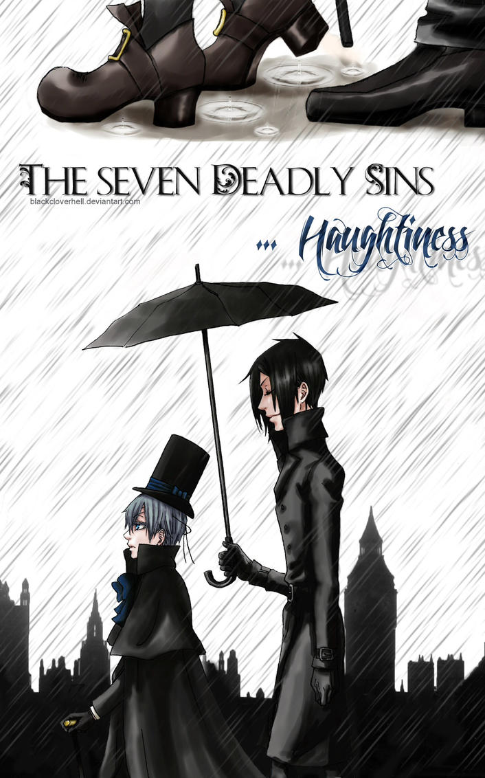 The Seven Deadly Sins by bc-hell