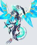YGO OC: Azure Eye Denpa Dragon