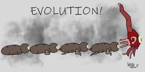 Evolution! by TinkerHatWill