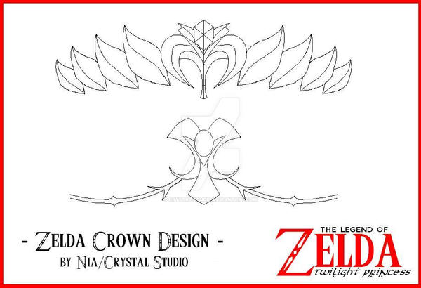 Zelda Crown Design by crystal-studio