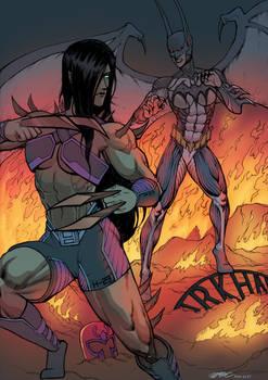 Bat queen and Beastress