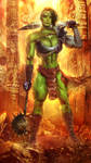 Gladiator She-Hulk by INCREDIBLE-BRAY