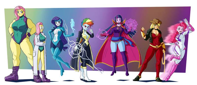 MLP Heroes: THE POWER PRINCESSES