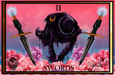 ..two of swords..