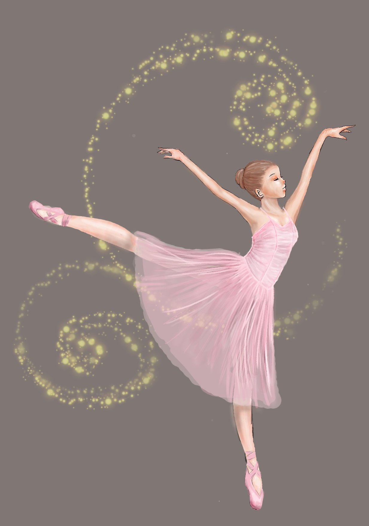 Pink ballerina by hellgirl on deviantart