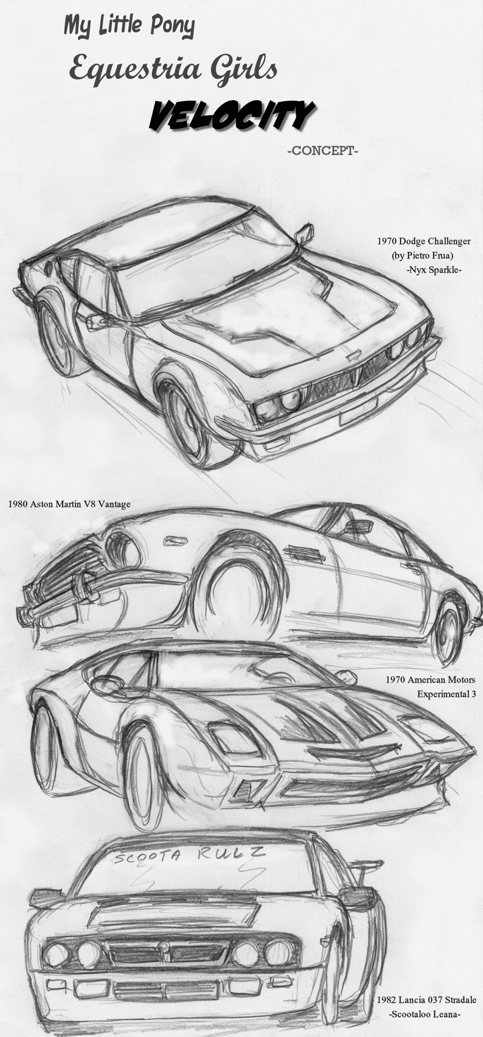 Cars - draw favourites by MRock91 on DeviantArt