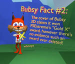 BUBSY FACT 2