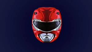 Red Ranger Low Poly Art