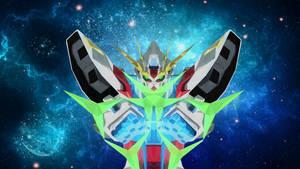 Build Strike Gundam Low Poly Art