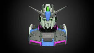Gundam Zeta Low Poly Art