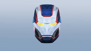 The Iron Patriot Low Poly Art
