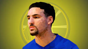 Klay Thompson Low Poly Art