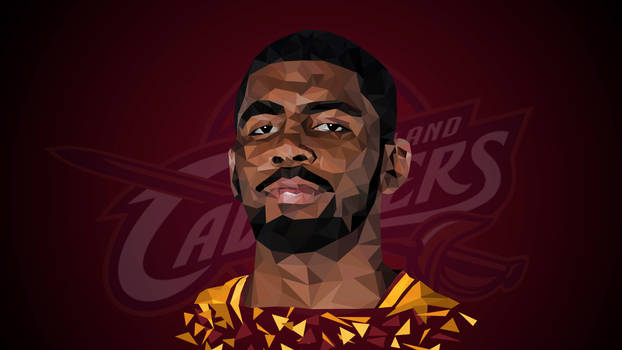 Kyrie Irving Low Poly Art