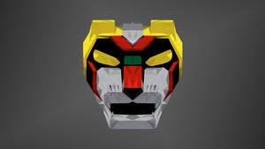 Black Lion Low Poly Art (Kurojishi)