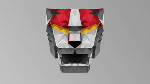 Red Lion Low Poly Art(Akajishi)