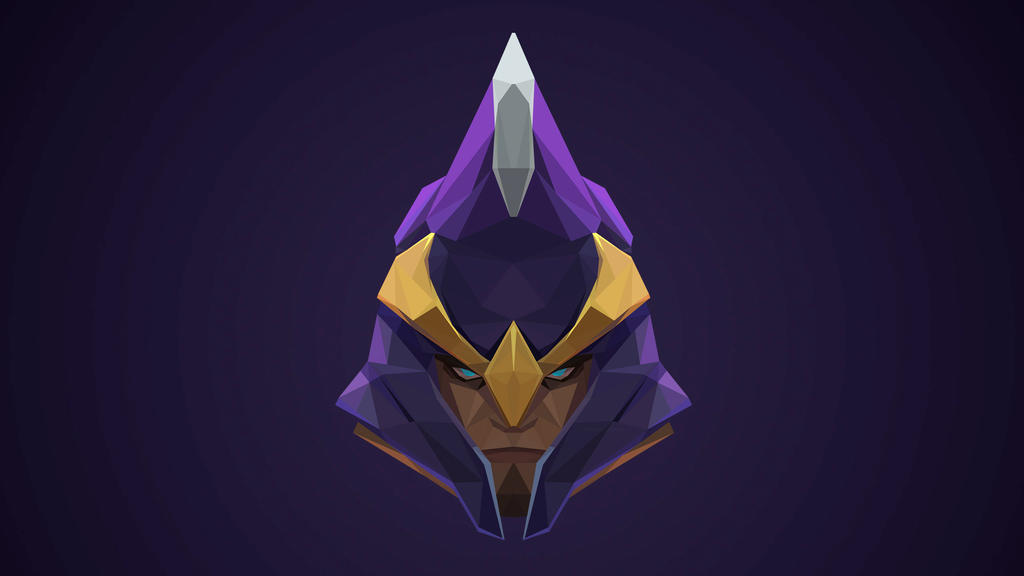 silencer dota 2 low poly art by giftmones on deviantart