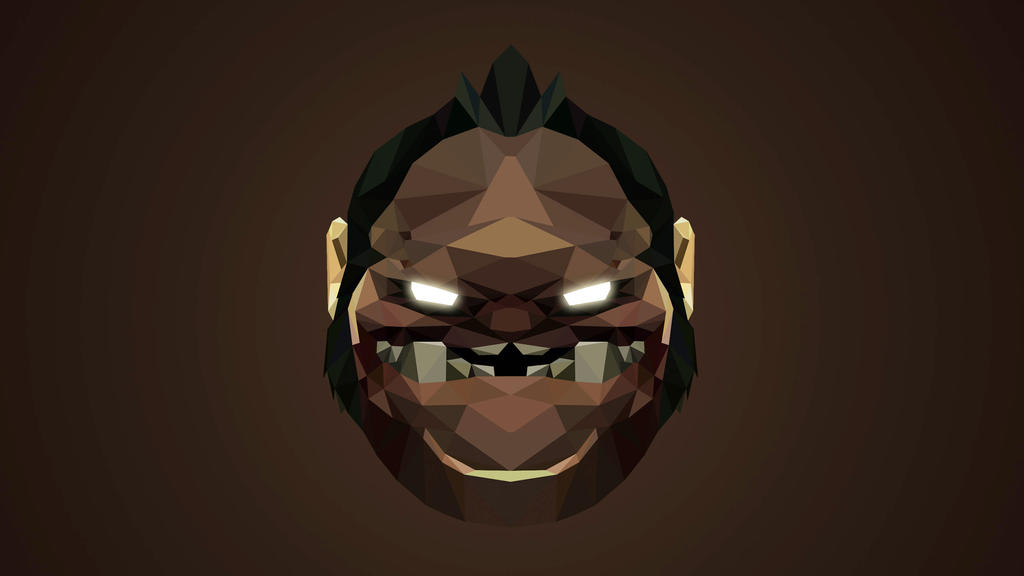 pudge dota 2 low poly art by giftmones on deviantart