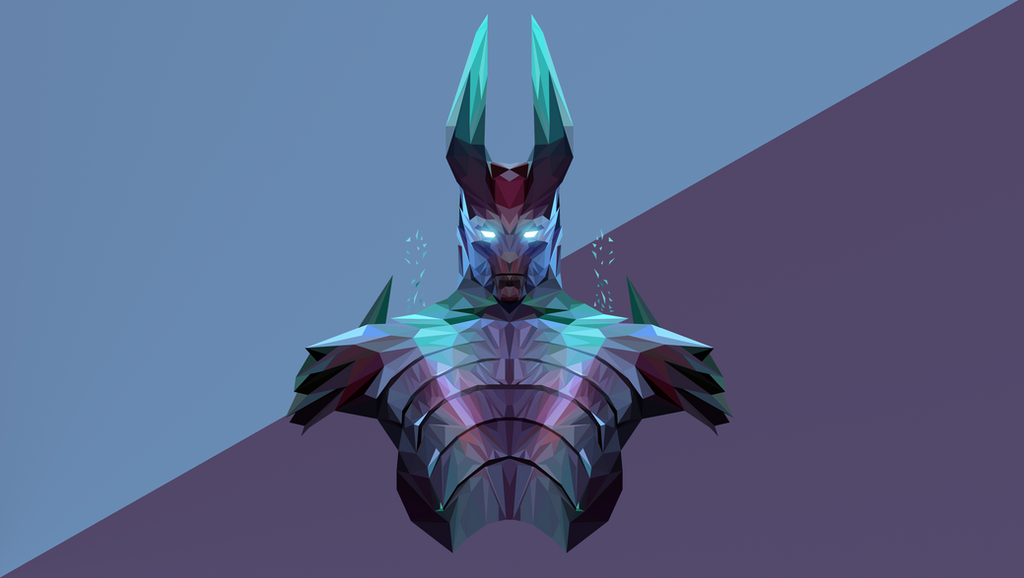 Berühmt Terrorblade Dota 2 Low Poly Art by giftmones on DeviantArt OO37