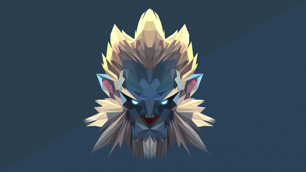 phantom lancer dota 2 low poly art by giftmones on deviantart