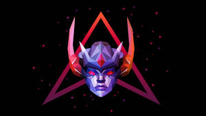 Vengeful Spirit Dota 2 Low Poly Art