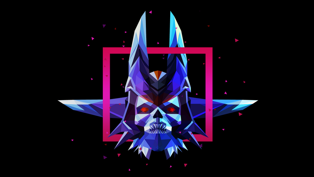 Lich Dota 2 Low Poly Art by giftmones