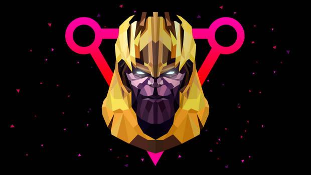 Low Poly Art - Thanos