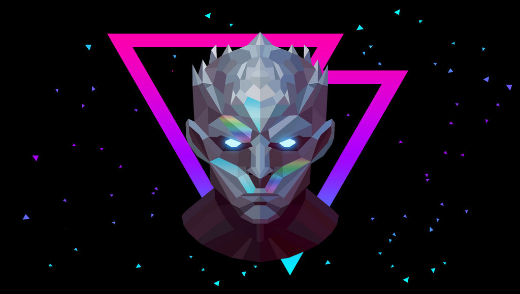 Low Poly Art - Night King