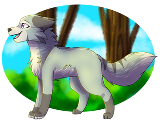 Having a walk .:AT:. by BlueFlame34