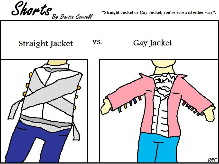Straight Jacket vs Gay Jacket by Humorous-D on DeviantArt