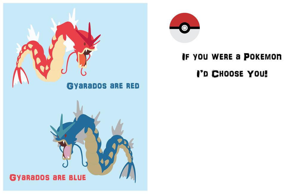 Gyarados Valentine by gracewolf