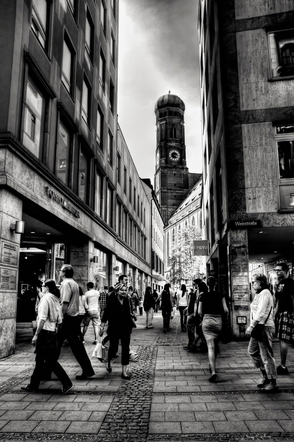 Eye on Munich VI by Michela-Riva