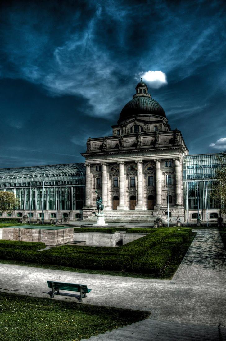 Eye on Munich VII by Michela-Riva