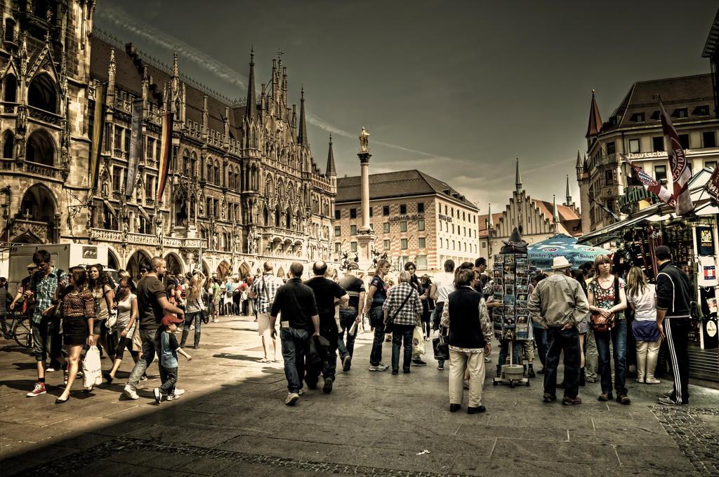 Eye on Munich XV by Michela-Riva