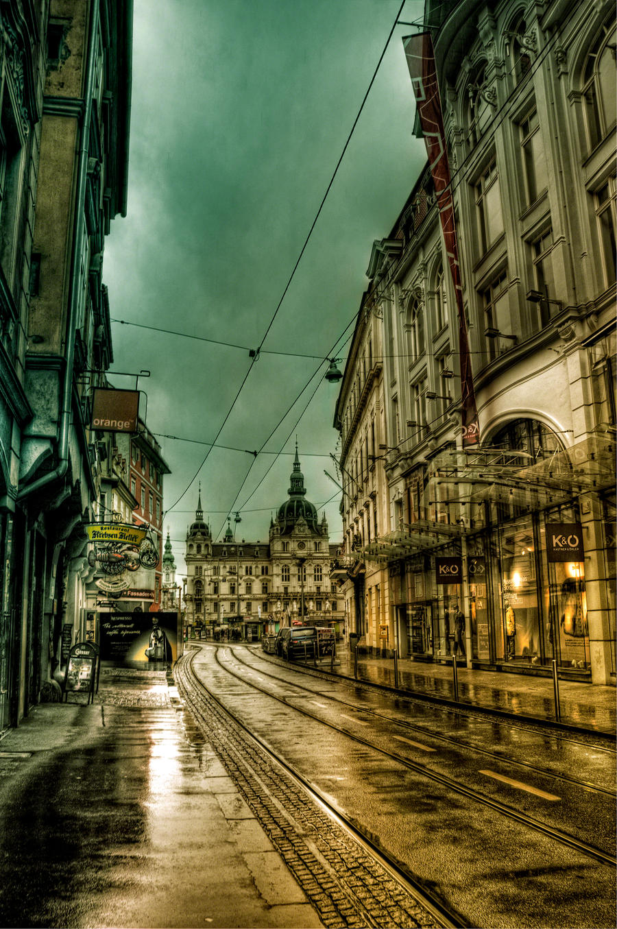 Postcard from Graz XI by Michela-Riva