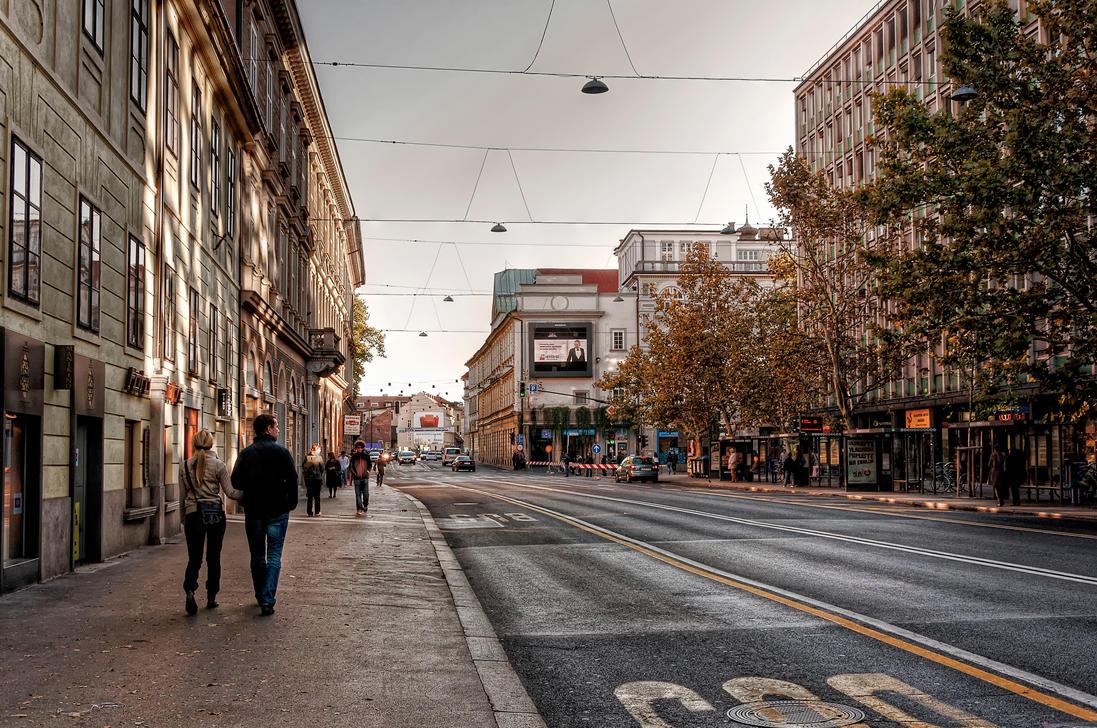 October in Ljubljana I by Michela-Riva