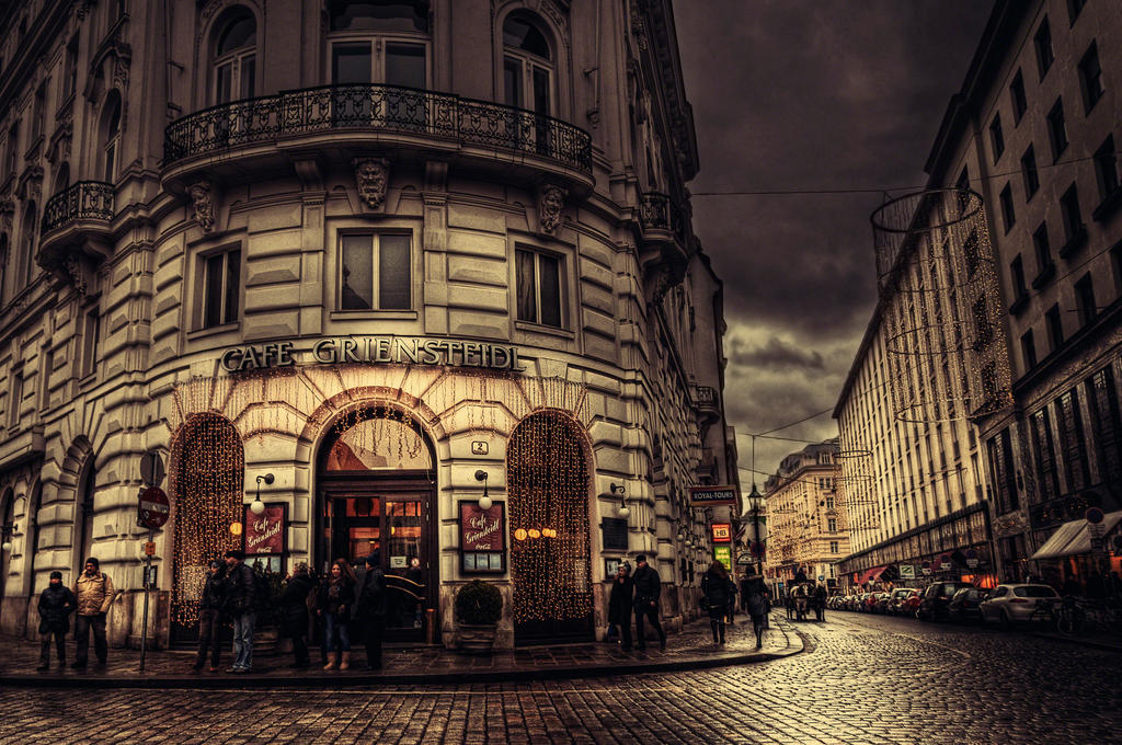 Winter in Vienna XXXV by Michela-Riva