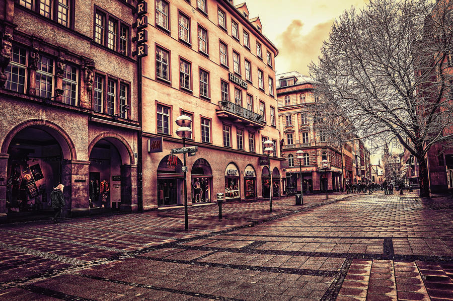 Magical Munich XIX by Michela-Riva
