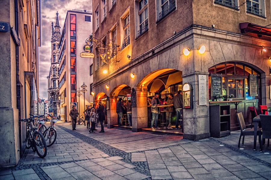Magical Munich XLI by Michela-Riva