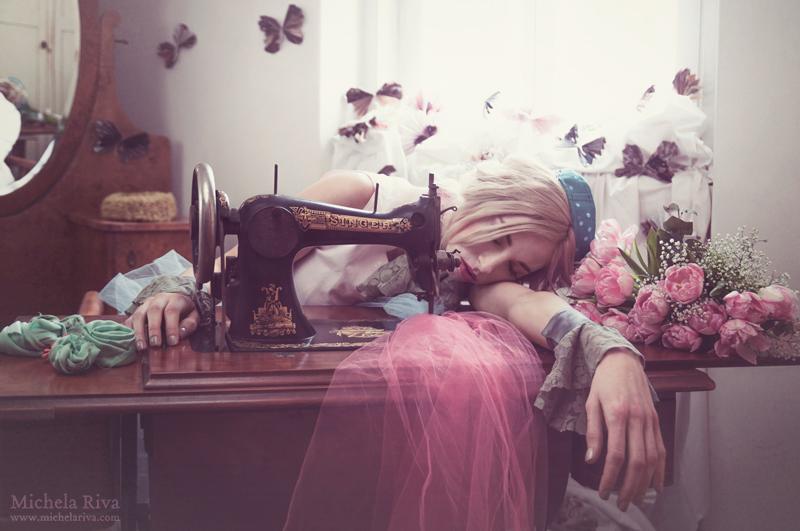 Petal Dreams V by Michela-Riva