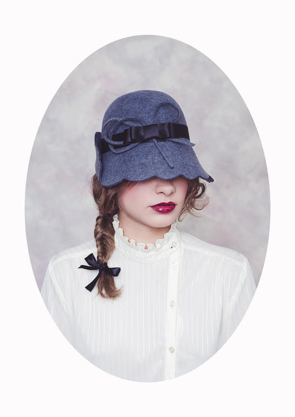 Femme au Chapeau III by Michela-Riva
