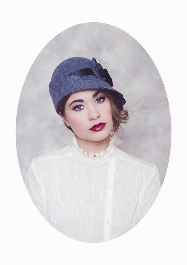 Femme au Chapeau II by Michela-Riva