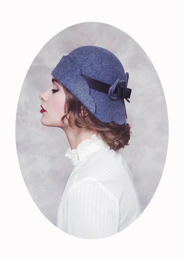 Femme au Chapeau by Michela-Riva