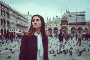 a dreamer in Venice III by Michela-Riva