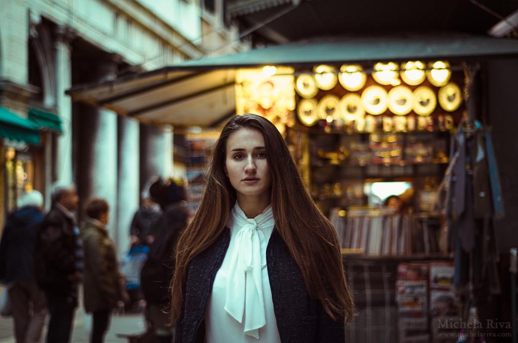 a dreamer in Venice IV by Michela-Riva