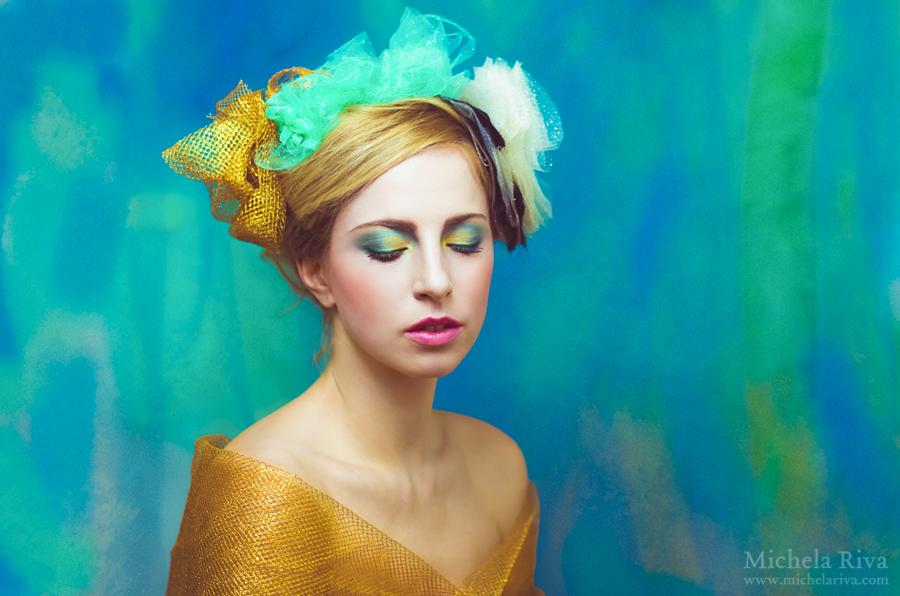 Portrait of a Daydreamer VI by Michela-Riva