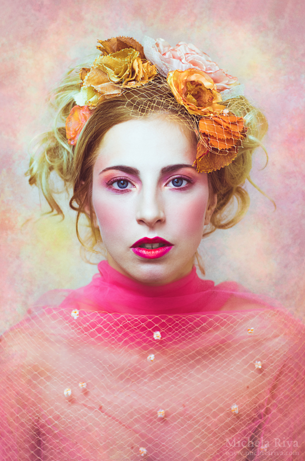 Portrait of a Daydreamer V by Michela-Riva