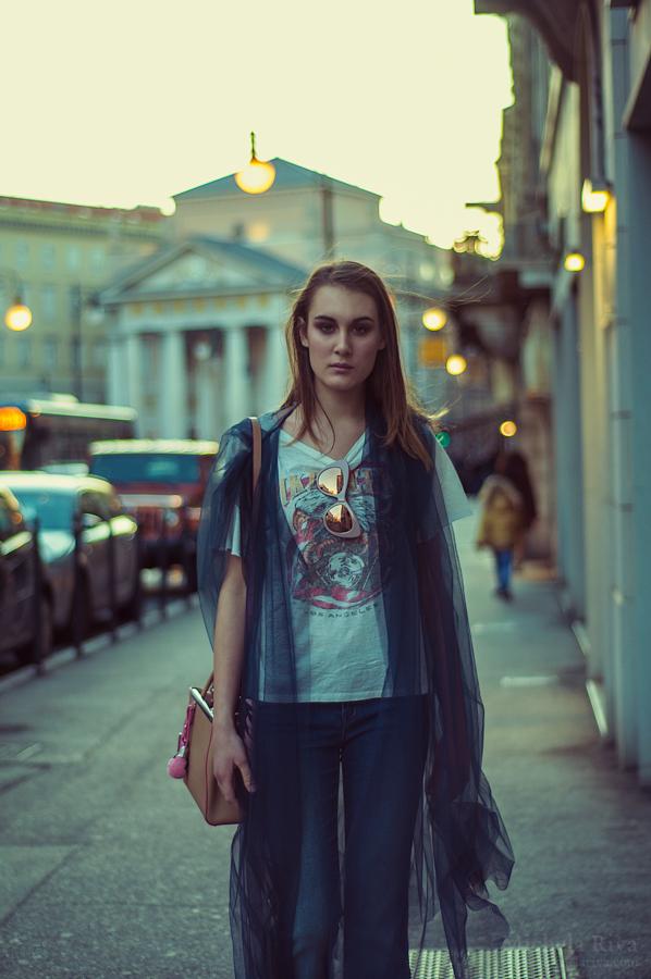 Urban Stranger - Blue hour 3 by Michela-Riva