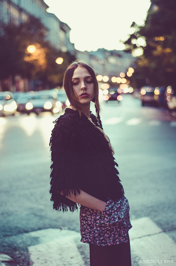 And suddenly it's evening XXII by Michela-Riva