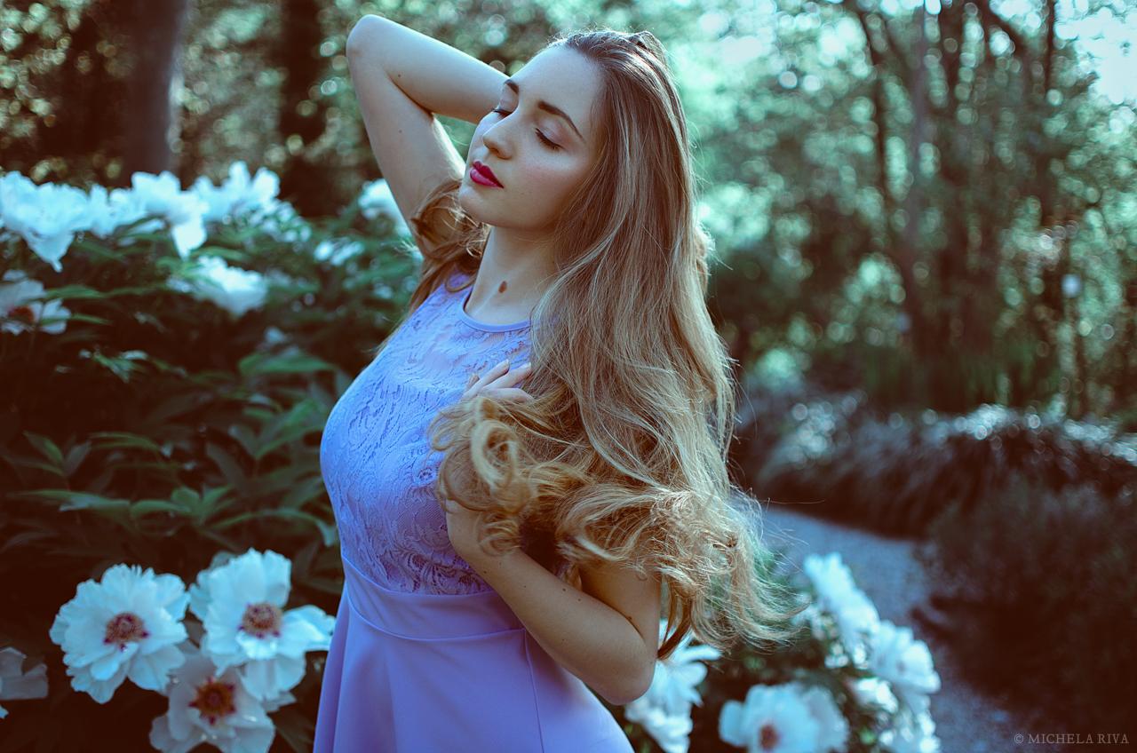 Serena at the Botanical Garden by Michela-Riva